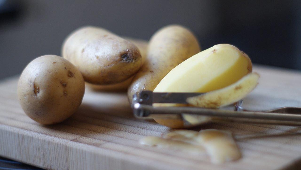 Kartoffeln Einfach Schälen