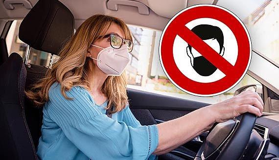 Masken Im Auto
