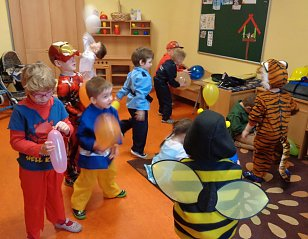 Fasching in der Kindervilla