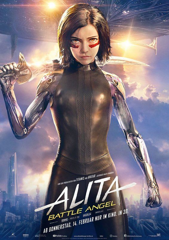 Alita: Battle Angel (Foto: 20th Century Fox)