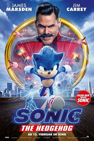 Sonic the Hedgehog (Foto: Paramount Pictures Germany)