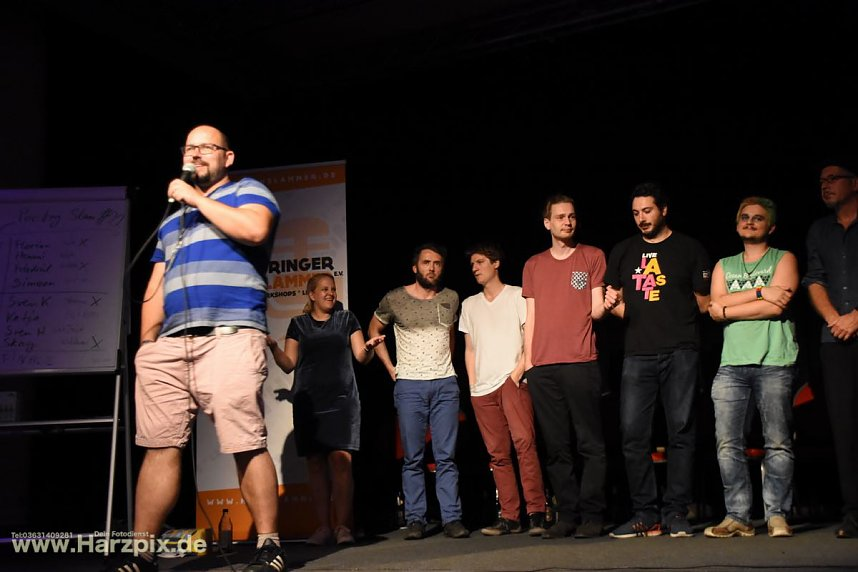 Poetry-Slam im Jugendclubhaus