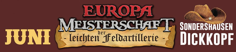 Europameisterschaft in Sondershausen